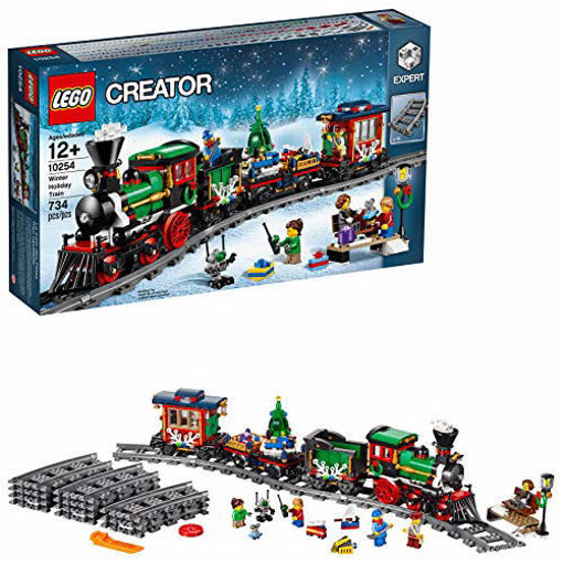 Picture of LEGO Creator Winter Holiday Train #10254
