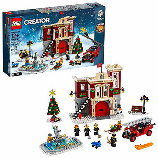 Picture of LEGO Creator Winter Village Fire Station #10263