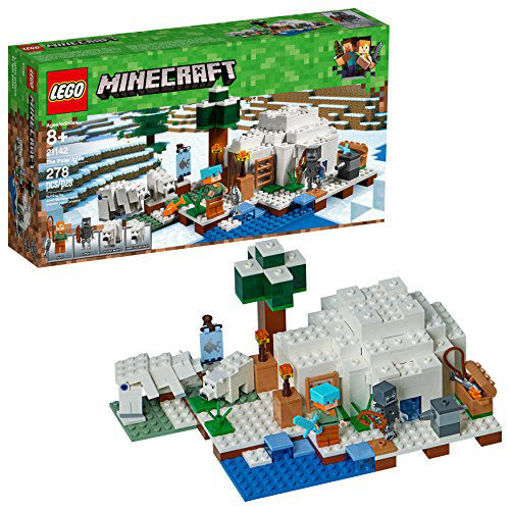Picture of LEGO Minecraft The Polar Igloo #21142