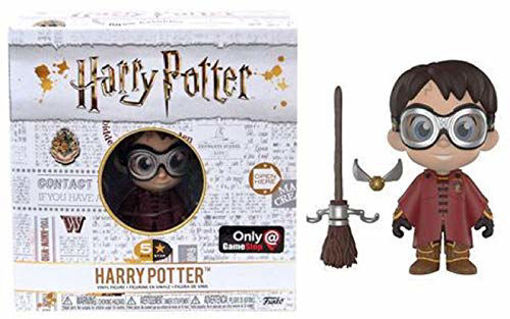 Picture of Funko 5 Star Harry Potter: Harry Potter with Quidditch Robes and Broom Exclusive