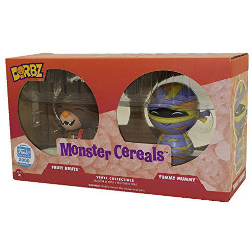 Picture of Funko Dorbz Ad Icons: Monster Cereals (2-Pack) (Fruit Brute and Yummy Mummy) Exclusive