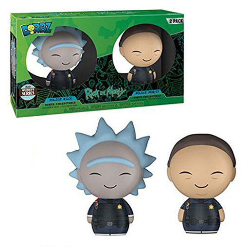 Picture of Funko Dorbz Animation Rick and Morty: Police Rick and Police Morty (2 Pack)